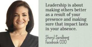 Sheryl Sandberg leadership quote