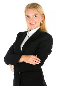 young business woman picture