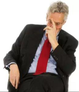 Image of Bob thinking