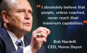 Coaching quote by Bob Nardelli