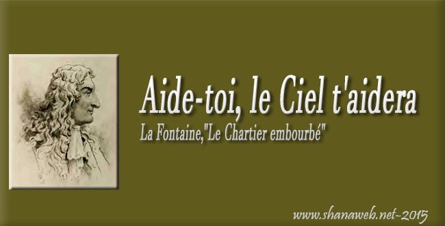 jean-de-la-fontaine le-chartier-embourbé