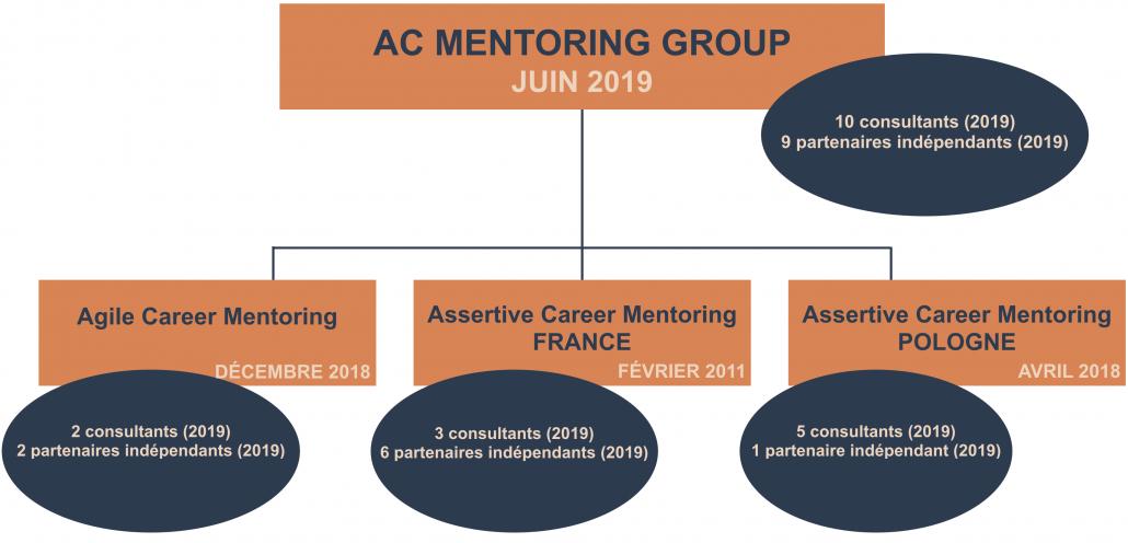organisation du groupe AC Mentoring